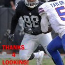 BRANDEN JACKSON 2016 OAKLAND RAIDERS FOOTBALL CARD