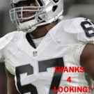 ONI OMOILE 2016 OAKLAND RAIDERS FOOTBALL CARD