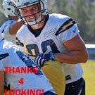 JAKE McGEE 2016 SAN DIEGO CHARGERS FOOTBALL CARD