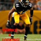 AL-HAJJ SHABAZZ 2016 PITTSBURGH STEELERS FOOTBALL CARD