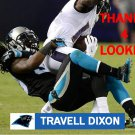 TRAVELL DIXON 2016 CAROLINA PANTHERS FOOTBALL CARD