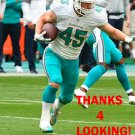 MIKE HULL 2015 MIAMI DOLPHINS FOOTBALL CARD
