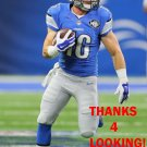 JACE BILLINGSLEY 2016 DETROIT LIONS FOOTBALL CARD