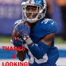 DONTE DEAYON 2016 NEW YORK GIANTS FOOTBALL CARD