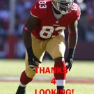 DEMARCUS DOBBS 2012 SAN FRANCISCO 49ERS FOOTBALL CARD