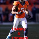 PARIS LENON 2013 DENVER BRONCOS FOOTBALL CARD