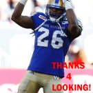 TONY BURNETT 2016 WINNIPEG BLUE BOMBERS  FOOTBALL CARD