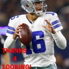 MATT CASSEL 2015 DALLAS COWBOYS FOOTBALL CARD