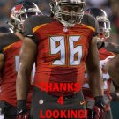 CLIFF MATTHEWS 2016 TAMPA BAY BUCCANEERS FOOTBALL CARD