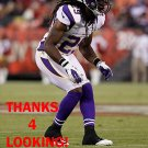 REGGIE JONES 2012 MINNESOTA VIKINGS FOOTBALL CARD