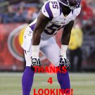 MARVIN MITCHELL 2012 MINNESOTA VIKINGS FOOTBALL CARD