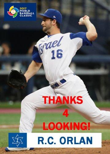 Rc Orlan 2017 Team Israel World Baseball Classic Card