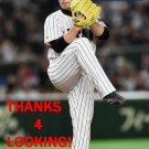 YUKI MATSUI 2017 TEAM JAPAN WORLD BASEBALL CLASSIC CARD