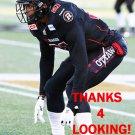 BRANDON SERMONS 2015 OTTAWA REDBLACKS  CFL FOOTBALL CARD
