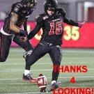 RONNIE PFEFFER 2015 OTTAWA REDBLACKS  CFL FOOTBALL CARD