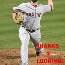 ROBBY SCOTT 2017 BOSTON RED SOX BASEBALL CARD