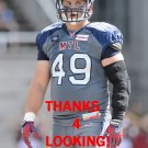 JEFFREY FINLEY 2016 MONTREAL ALOUETTES CFL FOOTBALL CARD