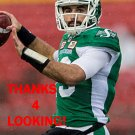 JAKE WATERS 2016 SASKATCHEWAN ROUGHRIDERS CFL FOOTBALL CARD