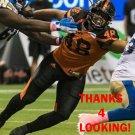 MAXX FORDE 2016 BC LIONS CFL FOOTBALL CARD