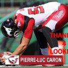 PIERRE-LUC CARON 2016 CALGARY STAMPEDERS  FOOTBALL CARD