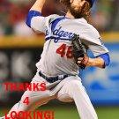 JOSH FIELDS 2016 LOS ANGELES DODGERS  BASEBALL CARD