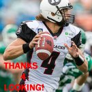 ALEX CARDER 2014 OTTAWA REDBLACKS  CFL FOOTBALL CARD