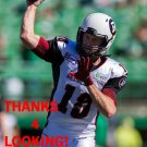 JOEY ELLIOTT 2014 OTTAWA REDBLACKS  CFL FOOTBALL CARD