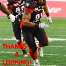 GREG TOWNSEND JR. 2017 OTTAWA REDBLACKS  CFL FOOTBALL CARD