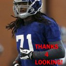 PAUL HAZEL 2014 NEW YORK GIANTS FOOTBALL CARD