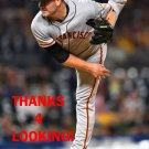 DAN SLANIA 2017 SAN FRANCISCO GIANTS  BASEBALL CARD