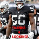 DAREN BATES 2016 OAKLAND RAIDERS FOOTBALL CARD