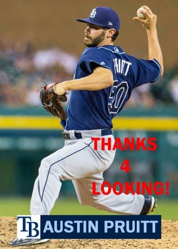 Austin Pruitt 2017 Tampa Bay Rays Baseball Card