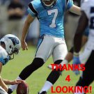 HARRISON BUTKER 2017 CAROLINA PANTHERS FOOTBALL CARD
