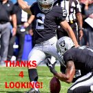 GIORGIO TAVECCHIO 2017 OAKLAND RAIDERS FOOTBALL CARD
