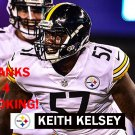 KEITH KELSEY 2017 PITTSBURGH STEELERS FOOTBALL CARD