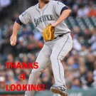 CHRIS HESTON 2017 SEATTLE MARINERS BASEBALL CARD