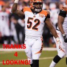 BRANDON BELL 2017 CINCINNATI BENGALS FOOTBALL CARD