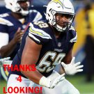 SAM TEVI 2017 LOS ANGELES CHARGERS FOOTBALL CARD