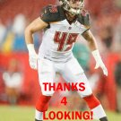 RILEY BULLOUGH 2017 TAMPA BAY BUCCANEERS FOOTBALL CARD