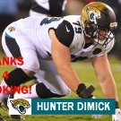 HUNTER DIMICK 2017 JACKSONVILLE JAGUARS FOOTBALL CARD