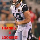 MATT OVERTON 2017 JACKSONVILLE JAGUARS FOOTBALL CARD