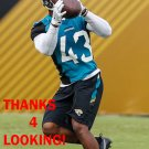 I'TAVIUS MATHERS 2017 JACKSONVILLE JAGUARS FOOTBALL CARD