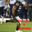 XAVIER WOODSON-LUSTER 2017 OAKLAND RAIDERS FOOTBALL CARD