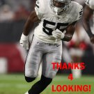 MARQUEL LEE 2017 OAKLAND RAIDERS FOOTBALL CARD