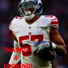 KEENAN ROBINSON 2016 NEW YORK GIANTS FOOTBALL CARD