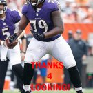 RONNIE STANLEY 2016 BALTIMORE RAVENS FOOTBALL CARD