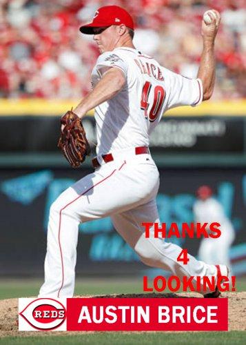 Austin Brice 2017 Cincinnati Reds Baseball Card