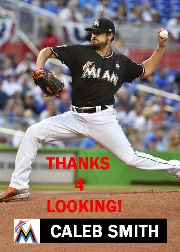 Caleb Smith 2018 Miami Marlins Baseball Card