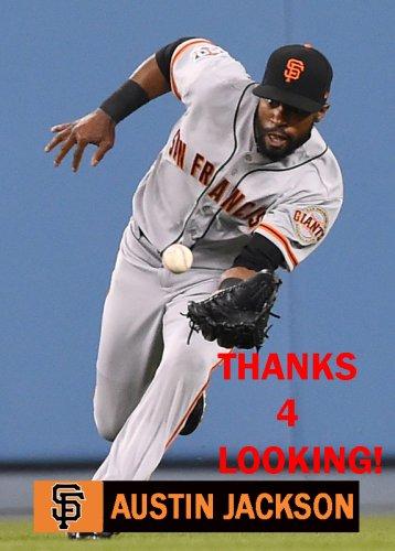 Austin Jackson 2018 San Francisco Giants Baseball Card