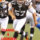 CHRISTIAN YOUNT 2012 CLEVELAND BROWNS FOOTBALL CARD